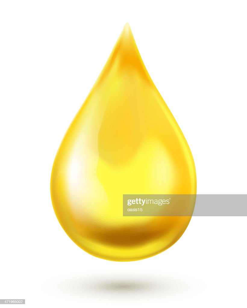 Oil drop. Vector illustration