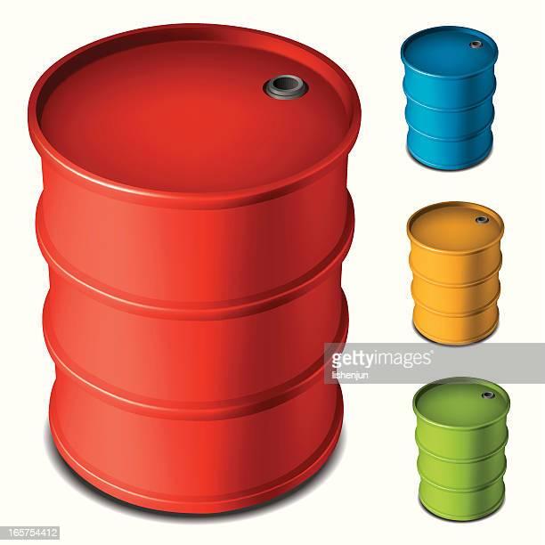 oil drum - oil drum stock illustrations, clip art, cartoons, & icons