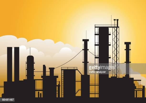 Oil factory