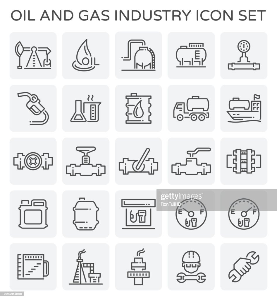 oil gas icon
