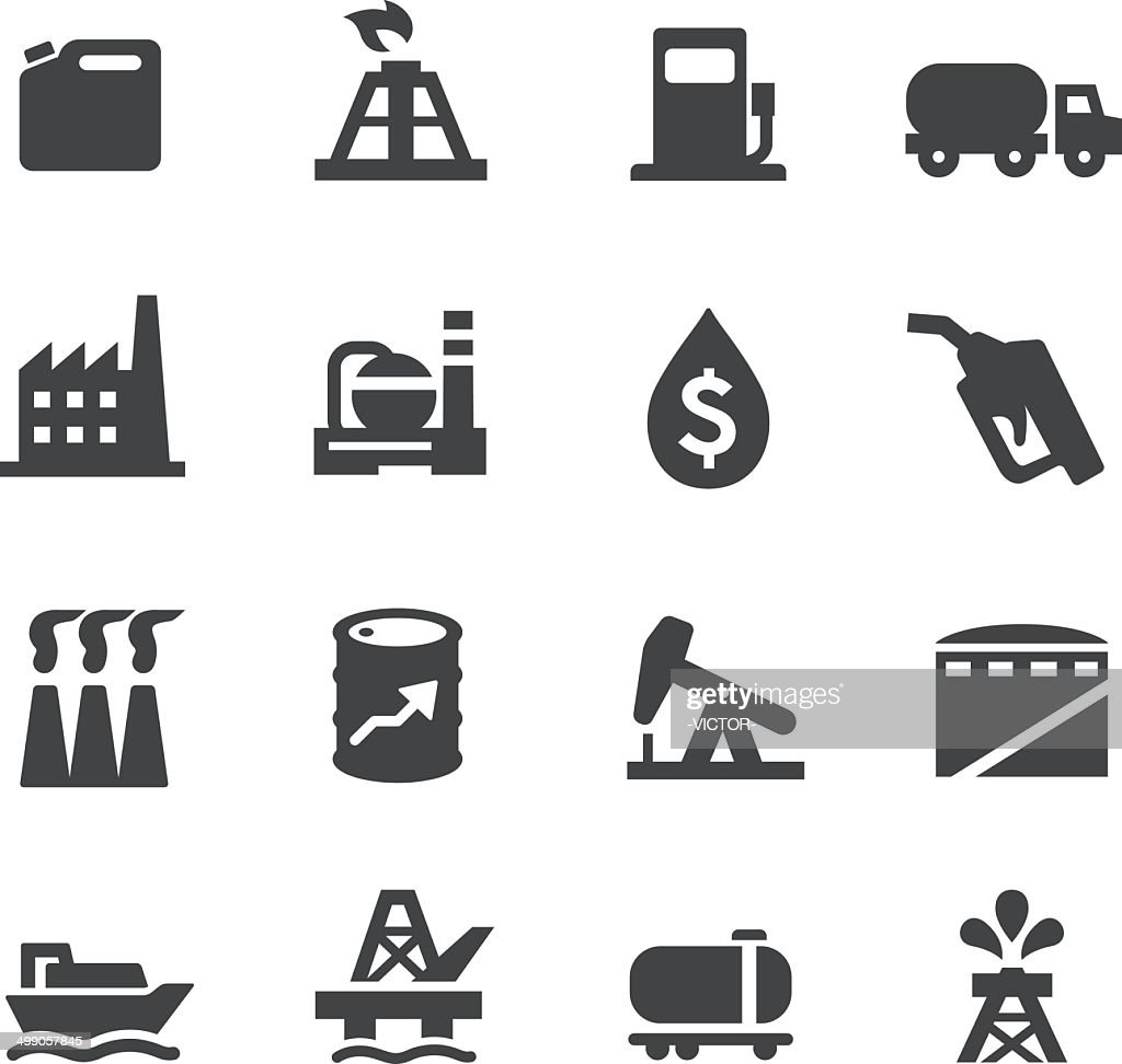 Oil Industry Icons - Acme Series : stock illustration