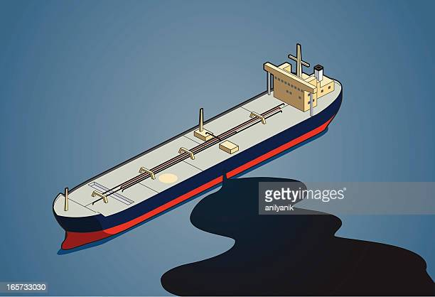 oil leakage - water pollution stock illustrations, clip art, cartoons, & icons