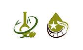 Oil Olive Template Set