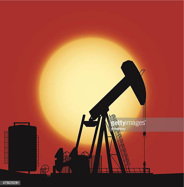 oil pump - oil pump stock illustrations, clip art, cartoons, & icons