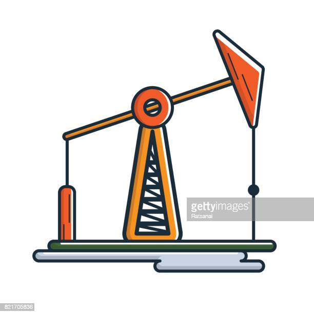 60 Top Oil Rig Line Drawing Stock Illustrations, Clip art