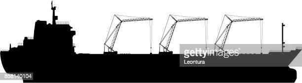 oil tanker - oil tanker stock illustrations, clip art, cartoons, & icons
