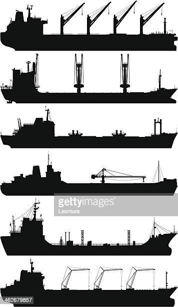 oil tankers - oil tanker stock illustrations, clip art, cartoons, & icons