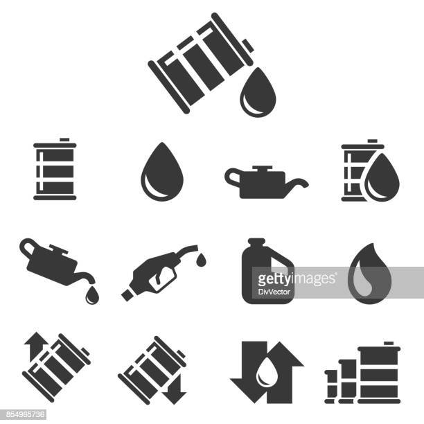 Oil vector icon