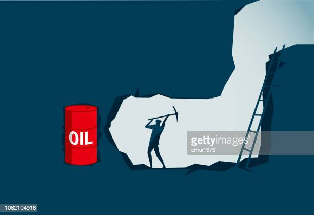 oil - discovery stock illustrations, clip art, cartoons, & icons