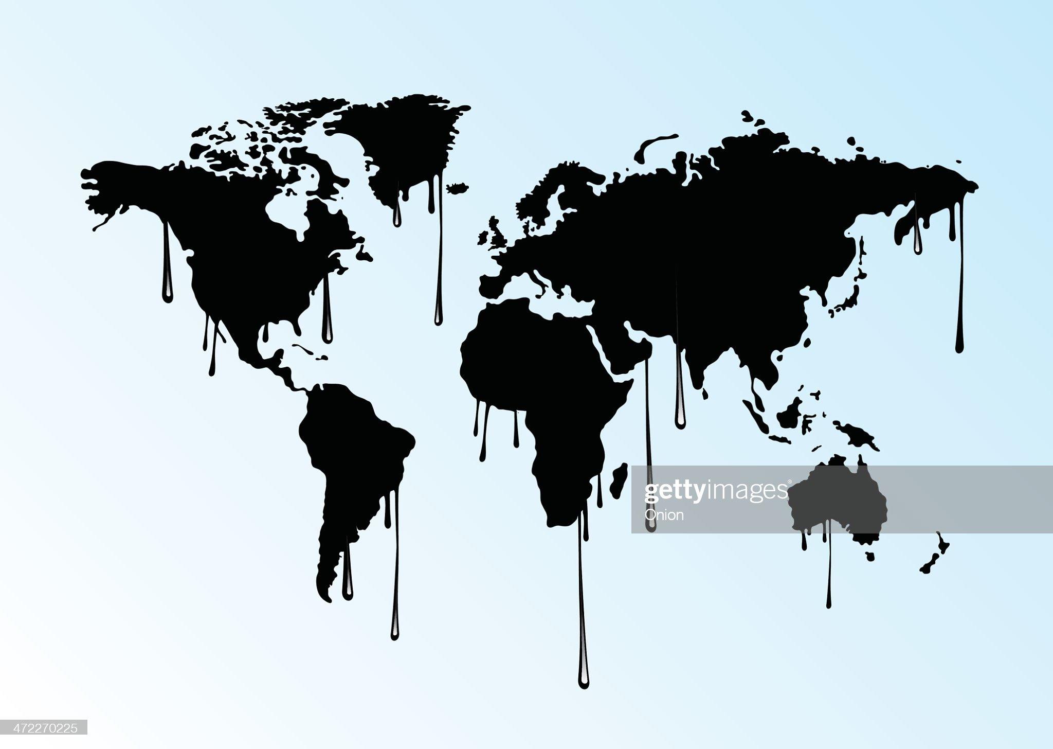 Huile monde entier : Illustration