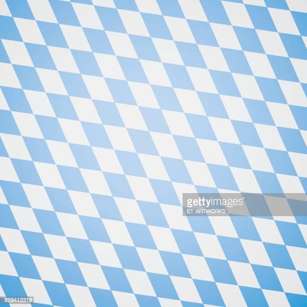oktoberfest blauem hintergrund - bavaria stock illustrations