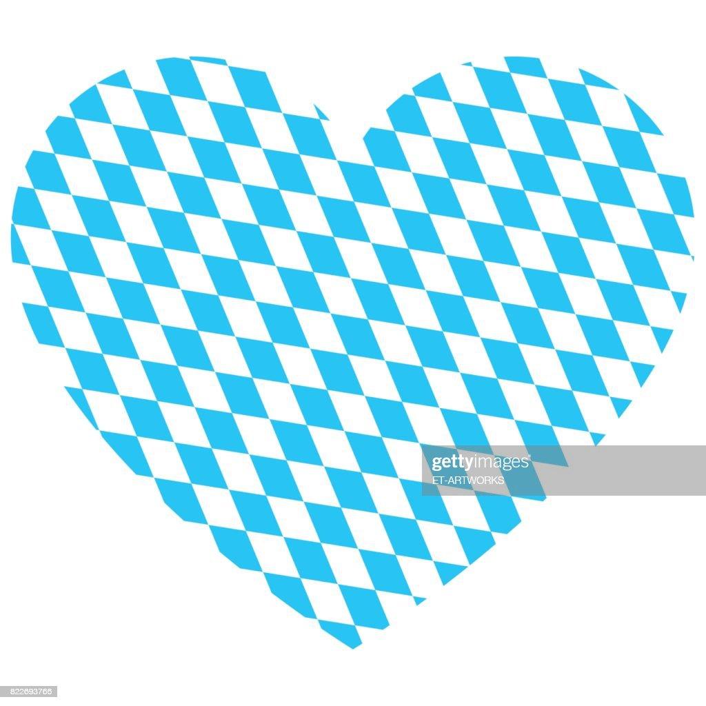 Oktoberfest Heart Vector : stock illustration