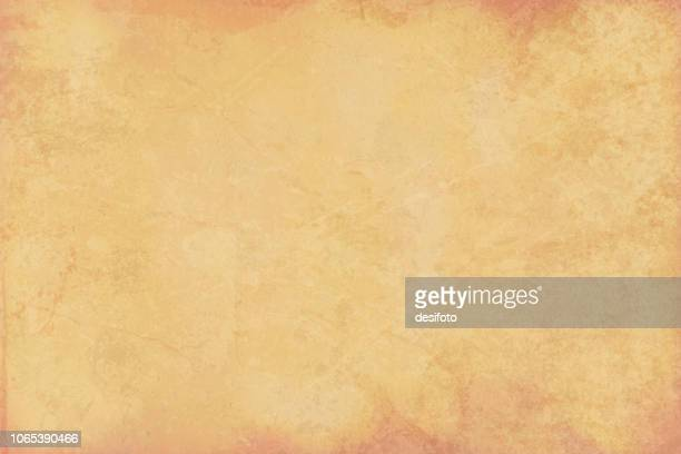old beige colored cracked effect wooden, wall texture vector background- horizontal - cream colored stock illustrations