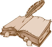Old book theme image 1