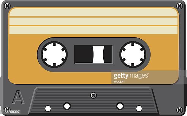Old cassette tape