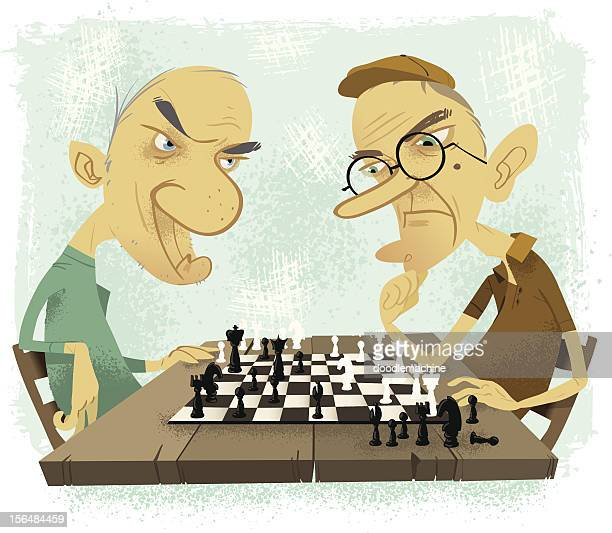 Old farts playing chess