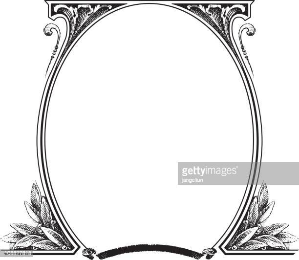 Old fashion picture frame