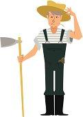 old fashioned Farmer