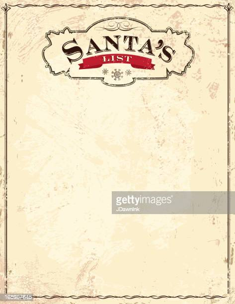 Ancienne Santa s List