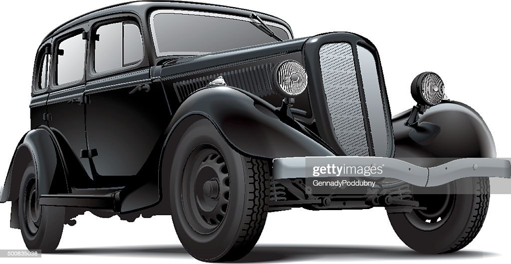 Old fashioned Soviet car