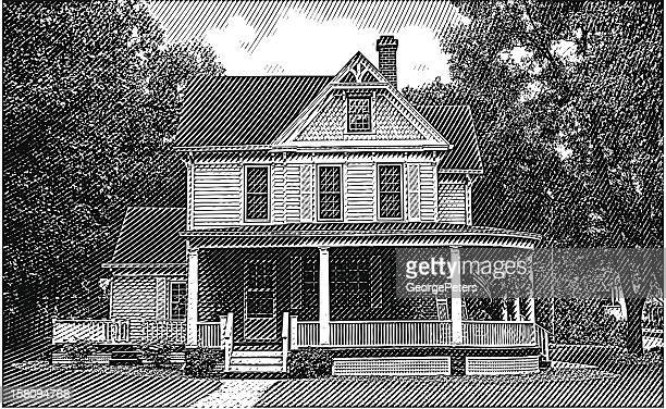Old Home with Porch