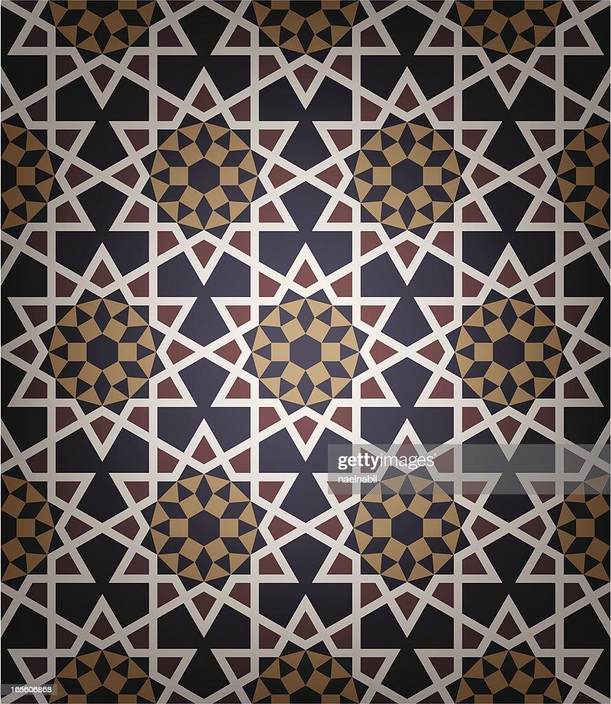 Old Islamic tile