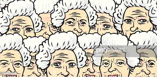 Old Lady Background