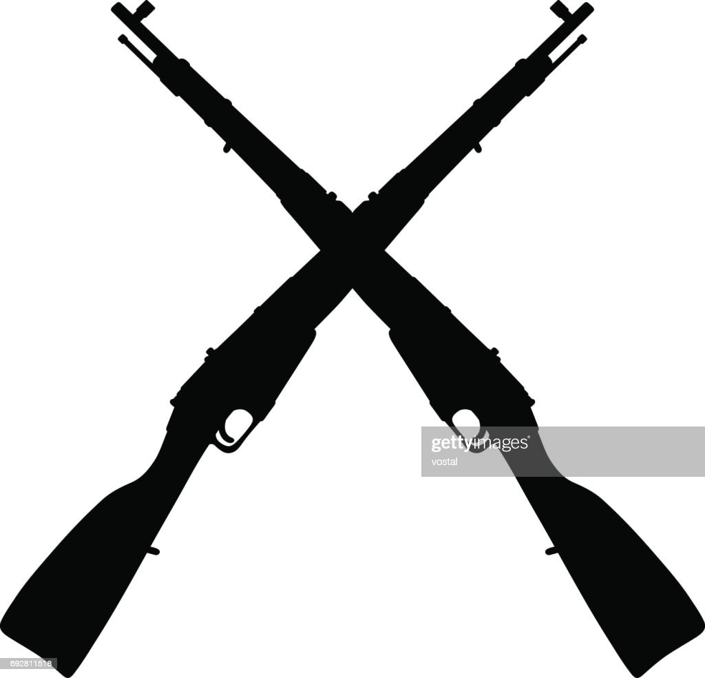Old military rifles