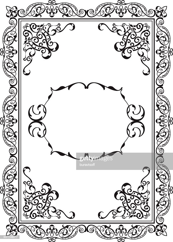 Old Nice Frame Vector Art | Getty Images