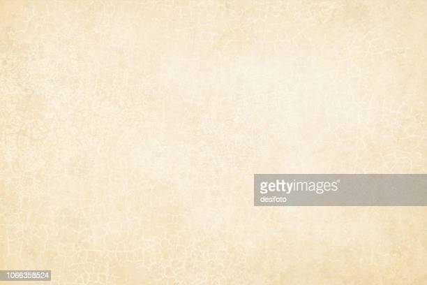 Old off white beige colored cracked effect wooden, wall texture vector background- horizontal