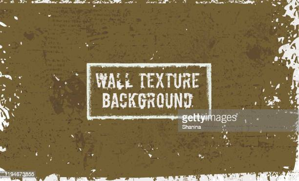 old painted wall texture background - chipping stock illustrations