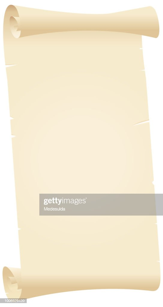 Old Paper Sheet Scroll
