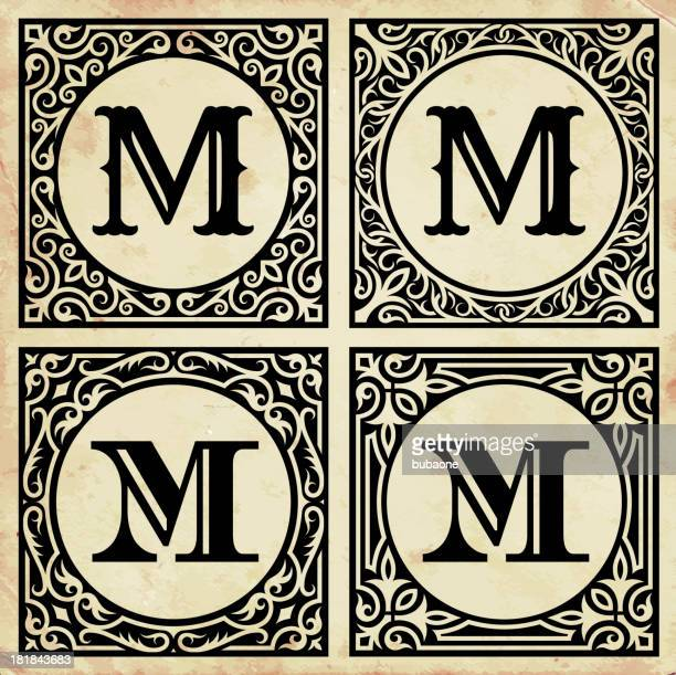 letter m stock illustrations and cartoons getty images
