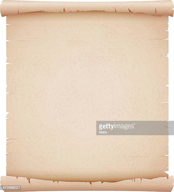 old parchment - paper scroll stock illustrations, clip art, cartoons, & icons