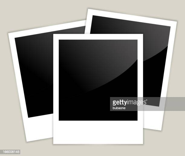 old polaroid picture - polaroid stock illustrations, clip art, cartoons, & icons