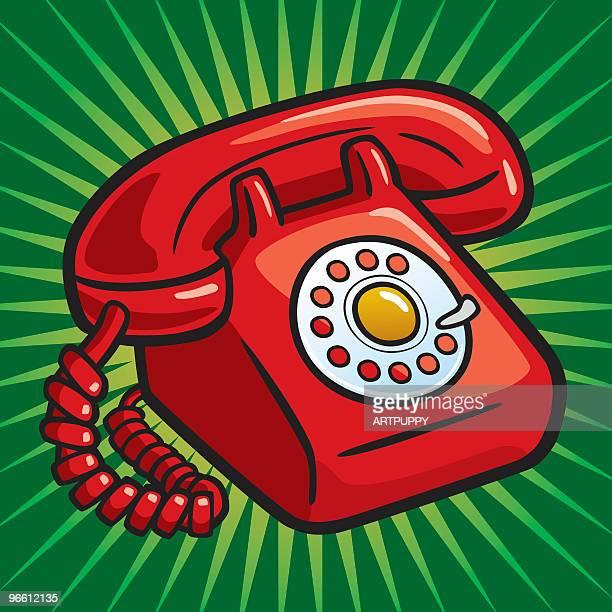 Alte Rote Telefon