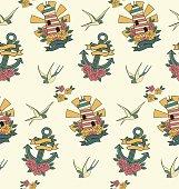 old school pattern