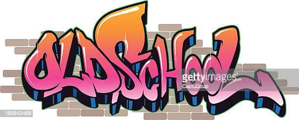 ilustrações de stock, clip art, desenhos animados e ícones de old school - hip hop