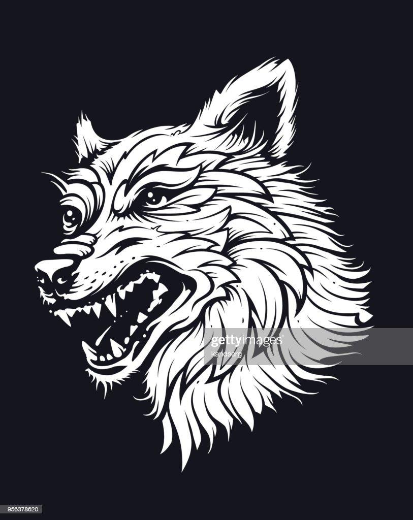 Old School Wolf