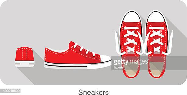 old style sport sneakers shoe