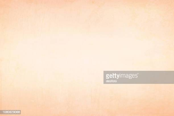 old yellowed cream beige colored stained wooden, wall texture grunge vector background with slightly brownish red tint at the top and bottom - horizontal - illustration. artist canvas - cream colored stock illustrations