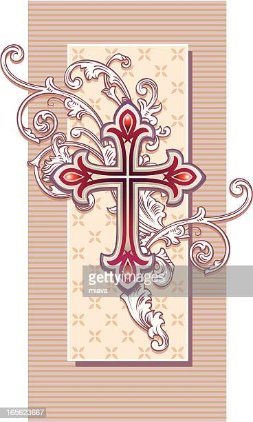 Old-fashioned cross