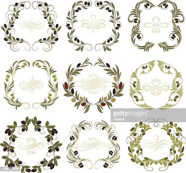 olive frames