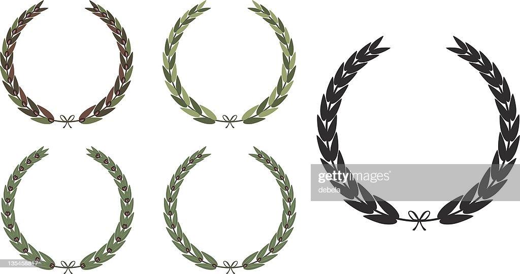 Olive Laurel Wreath