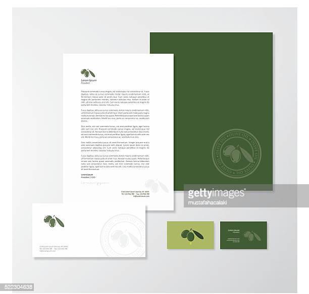 Oliva aceite empresa marca de diseño
