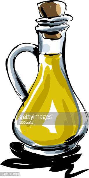 Olive oil Drawing