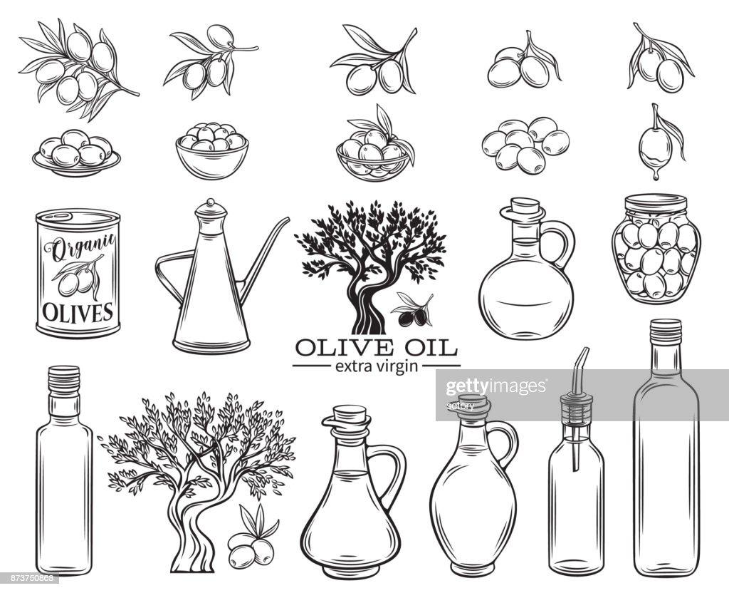 olive oil set