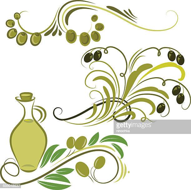 olive ornaments