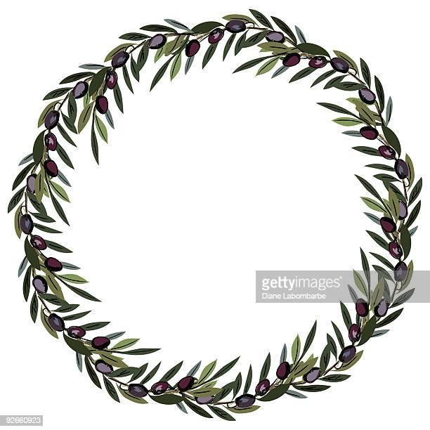 Corona de oliva