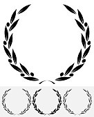Olive Wreaths Silhouette